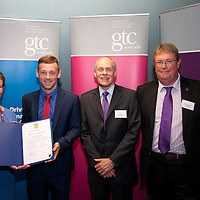 Images from the 2014 GTSC Probabtion Event Pictured are Jackie Brock (Chief Executive of Children First), Chris Shaw (East Renfrewshire),,Ken Muir (Chief Executive GTCS) and Derek Thompson (Convener GTCS). Thursday 12th June 2014.