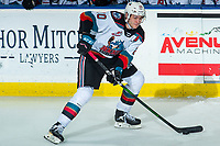 KELOWNA, BC - DECEMBER 30:  Matthew Wedman #20 of the Kelowna Rockets skates with the puck against the Prince George Cougars at Prospera Place on December 30, 2019 in Kelowna, Canada. Wedman was selected in the 2019 NHL entry draft by the Florida Panthers. (Photo by Marissa Baecker/Shoot the Breeze)