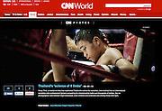 CNN Photo Blog Tearsheet - Jean-Michel Clajot - Photojournalist