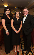 At the SCSI, (Society of Chartered Surveyors Ireland) - Western Region Annual Dinner 2016 in the Ardilaun Hotel Galway were Aine Myler, Director of Operation SCSI, Patricia Byron Director General, SCSI and PJ Power Limerick . Photo:Andrew Downes, xpousre