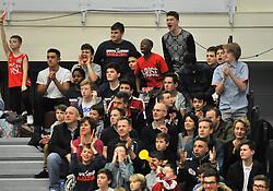 Bristol Flyers fans - Photo mandatory by-line: Dougie Allward/JMP - Mobile: 07966 386802 - 10/01/2015 - SPORT - basketball - Bristol - SGS Wise Campus - Bristol Flyers v Leicester Riders - British Basketball League