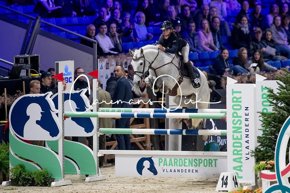 Szarzewski Anna, FRA, Vaughann de Vuzit<br /> Jumping Mechelen 2019<br /> © Hippo Foto - Sharon Vandeput<br /> 28/12/19