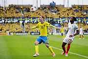 KIELCE, POLEN 2017-06-16<br /> Pavel Cibicki och Nathaniel Chalobah under UEFA U21 matchen mellan Sverige och England p&aring; Arena Kielce den 16 juni, 2017.<br /> Foto: Nils Petter Nilsson/Ombrello<br /> Fri anv&auml;ndning f&ouml;r kunder som k&ouml;pt U21-paketet.<br /> Annars Betalbild.<br /> ***BETALBILD***