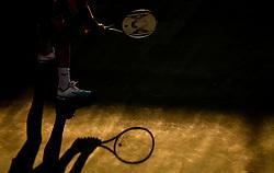 Blaz Rola of Slovenia playing Singles in 3rd Round of ATP Challenger Zavarovalnica Sava Slovenia Open 2019, day 7, on August 15, 2019 in Sports centre, Portoroz/Portorose, Slovenia. Photo by Vid Ponikvar/ Sportida