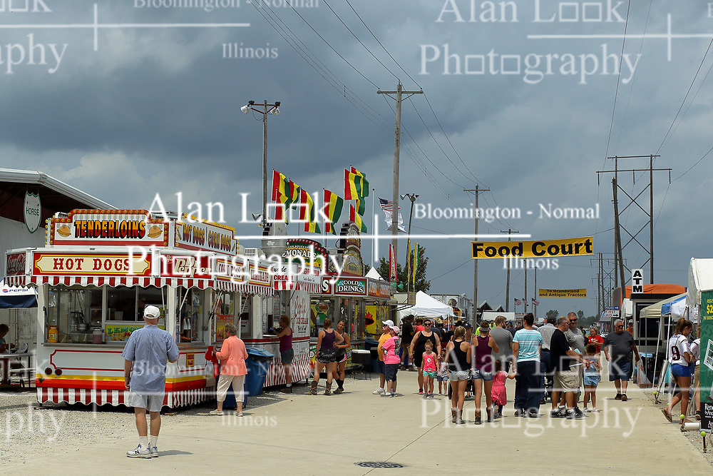 03 August 2017:  Midway at 2017 McLean County Fair<br /> <br /> #alphoto513