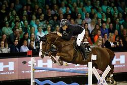 Pals Johnny, NED, Chat Botte du Ruisseau Z<br /> The Dutch Masters<br /> Indoor Brabant - 's Hertogen bosch 2018<br /> © Hippo Foto - Dirk Caremans<br /> 10/03/2018