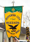 The Jefferson City Buzzards arrive at Grit's Bar to meet the Phunny Phorty Phellows during their 'dry run' on February 17, 2019