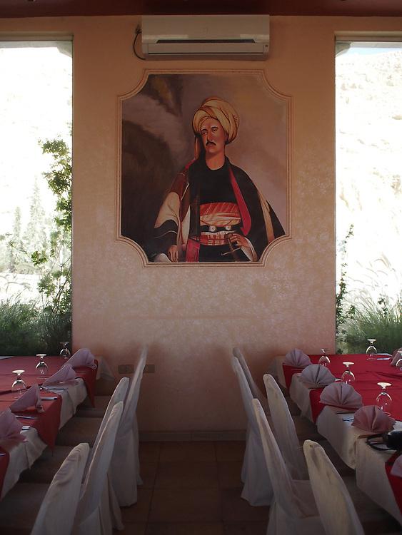 A tourist restaurant near Petra, Jordan in 2013.