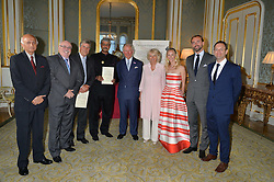 at the Quintessentially Foundation and Elephant Family 's 'Travels to My Elephant' Royal Rickshaw Auction presented by Selfridges and hosted by HRH The Prince of Wales and The Duchess of Cornwall held at Lancaster House, Cleveland Row, St.James's, London on 30th June 2015.