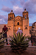 The Santo Domingo de Guzmán Church in Oaxaca, Mexico.