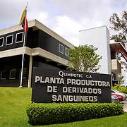 QUIMBIOTEC C.A. Planta Productora de Derivados Sanguíneos - Venezuela