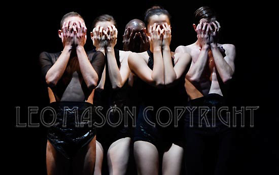 LONDON, ENGLAND - SEPTEMBER 19: UK Premiere Israel's dance company L-E-V performing OCD LOVE at Sadlers Wells Theatre on September 19, 2016 in London, England. (Photo by Leo Mason Split Second/Corbis via Getty Images)