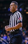 SOUTH BEND, IN - JANUARY 12: NCAA referee Jeff Clark is seen during the Notre Dame Fighting Irish and Boston College Eagles game at Purcell Pavilion on January 12, 2019 in South Bend, Indiana. (Photo by Michael Hickey/Getty Images) *** Local Caption *** Jeff Clark