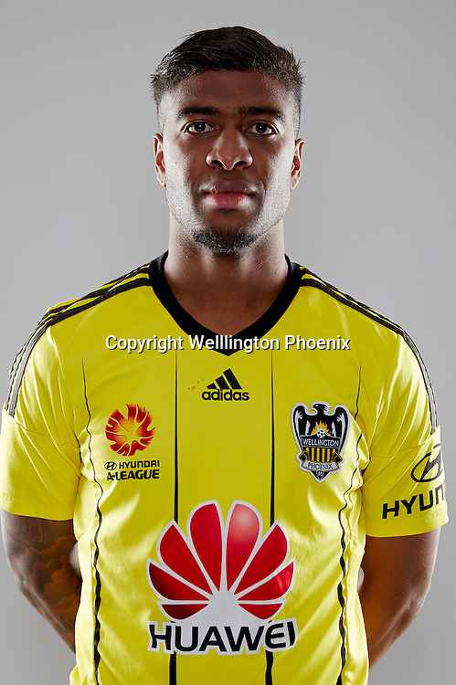 Roly Bonevacia.<br /> Headshots of the Wellington Phoenix Football team for the Hyundai A-League 2016-17 season.