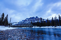 Landscape photography at Castle Mountain in Banff National Park in the Canadian Rocky Mountains<br /> <br /> &copy;2017, Sean Phillips<br /> http://www.RiverwoodPhotography.com