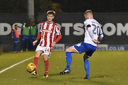 Stoke City U23's Midfielder, Daniel Jarvis (44) during the EFL Trophy match between Bury and U23 Stoke City at the JD Stadium, Bury, England on 8 November 2017. Photo by Mark Pollitt.