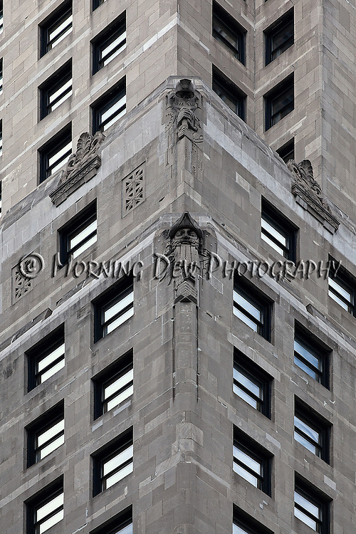 "Michigan Avenue (Hotel InterContinental Chicago) - Part of the ongoing series entitled ""City Walls"""