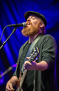 Marc Broussard and band perform at the first annual Abita Fall Fest in Abita Springs Park on November 2, 2019; photo ©2019, George H. Long