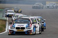 #2 Colin Turkington Team BMW BMW 125i M Sport during BTCC Race 2  as part of the Dunlop MSA British Touring Car Championship - Rockingham 2018 at Rockingham, Corby, Northamptonshire, United Kingdom. August 12 2018. World Copyright Peter Taylor/PSP. Copy of publication required for printed pictures.