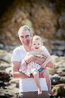 portrait photography for mccomb family photos in tairua on the coromandel peninsula beach family photos by felicity jean photography