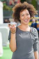 Caitlin Fitzgerald  from Galway and a native oyster at the 57th Galway International  Oyster Festival. Photo:Andrew Downes.
