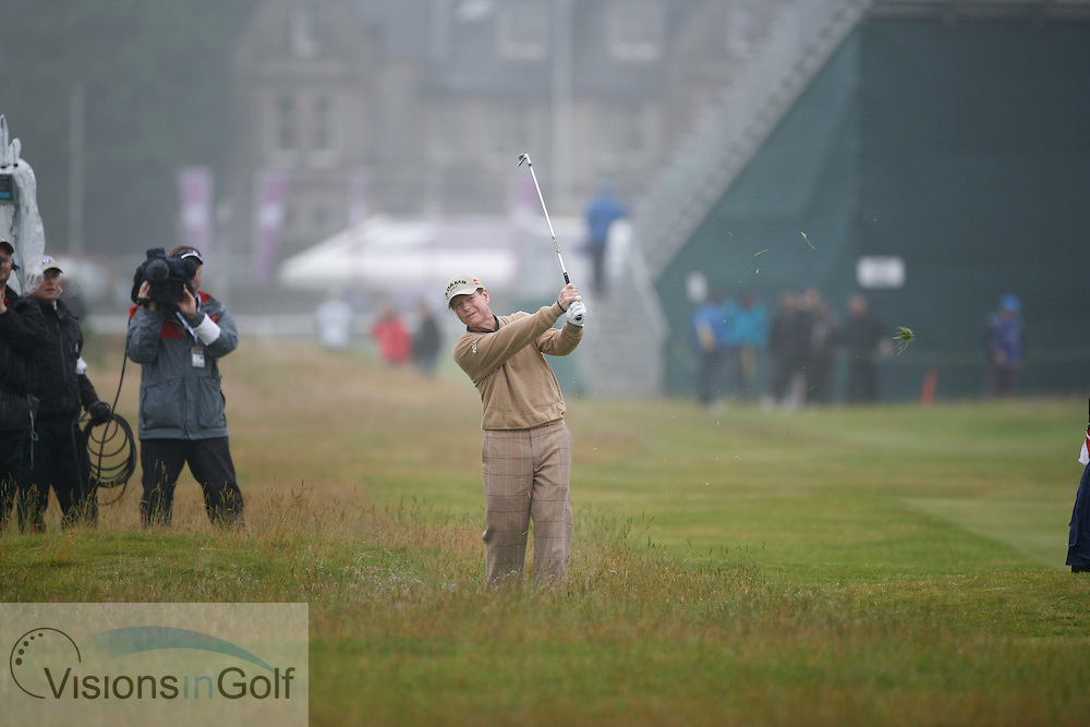 Tom Watson<br /> Picture Credit:  Mark Newcombe / www.visionsingolf.com