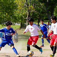05-02-15 14 under Berryville Youth Soccer vs. Green Forest
