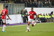 Antonio Valencia Midfielder of Manchester United during the UEFA Europa League Quarter-final, Game 1 match between Anderlecht and Manchester United at Constant Vanden Stock Stadium, Anderlecht, Belgium on 13 April 2017. Photo by Phil Duncan.