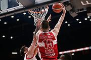 Tarczewski Kaleb<br /> EA7 Olimpia Milano - The Flexx Pistoia<br /> Legabasket Serie A 2017/18<br /> Milano, 06/05/2018<br /> Foto MarcoBrondi / Ciamillo-Castoria