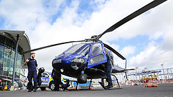 NZ Police, Eagle Support Crew 2, at Mechanics Bay to celebrate the new funding part of the new $388 Million Safer Communities package over four year,  Auckland, New Zealand, Monday, October 02, 2017. Credit:SNPA / Hayden Woodward **NO ARCHIVING**