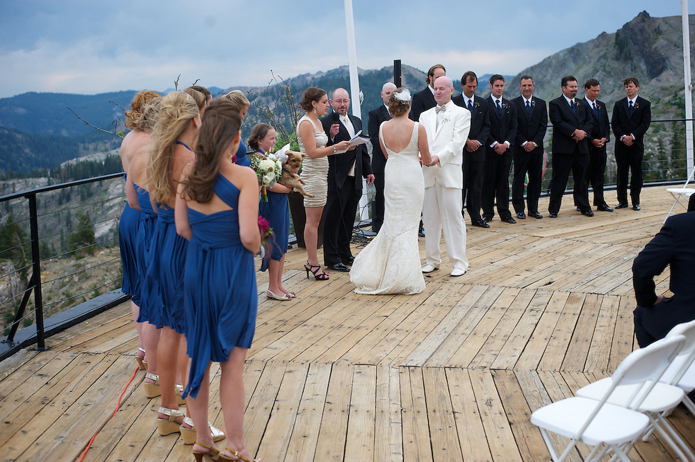 Rick and Corine Wedding at Squaw Valley