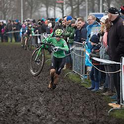 13-01-2018: Wielrennen: NK Veldrijden: Surhuisterveen <br />Maud Kaptheijns