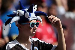 Leicester City fan - Mandatory byline: Jason Brown/JMP - 07966386802 - 07/08/2016 - FOOTBALL - Wembley Stadium - London, England - Leicester City v Manchester United - FA Community Shield