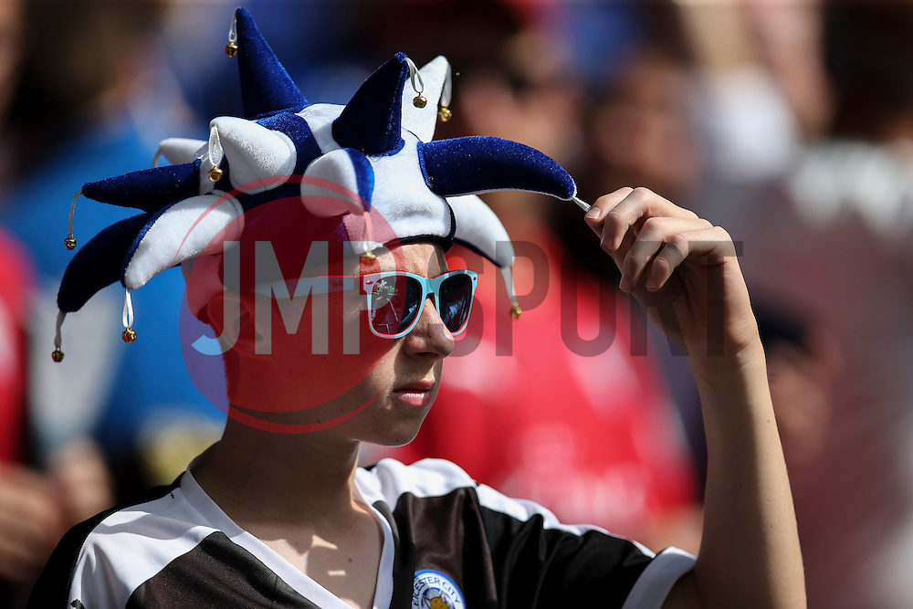 Leicester City fan - Mandatory byline: Jason Brown/JMP - 07966386802 - 07/08/2016 - FOOTBALL - Wembley Stadium - London, England - Leicester City v Manchester United - FA Community Shield