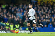 Aaron Lennon of Everton during the Barclays Premier League match between Chelsea and Everton at Stamford Bridge, London, England on 16 January 2016. Photo by Salvio Calabrese.