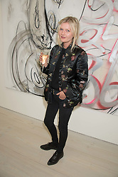 Actress SOPHIE KENNEDY CLARK at the opening of the exhibition Champagne Life in celebration of 30 years of The Saatchi Gallery, held on 12th January 2016 at The Saatchi Gallery, Duke Of York's HQ, King's Rd, London.