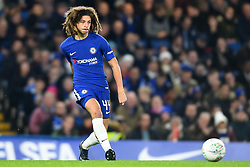 December 20, 2017 - London, Greater London, United Kingdom - Chelseas Ethan Ampadu clears his line during the Carabao Cup Quarter - Final match between Chelsea and AFC Bournemouth at Stamford Bridge, London, England on 20 Dec 2017. (Credit Image: © Kieran Galvin/NurPhoto via ZUMA Press)
