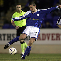 St Johnstone FC<br />Chris Hay<br /><br />Picture by Graeme Hart.<br />Copyright Perthshire Picture Agency<br />Tel: 01738 623350  Mobile: 07990 594431