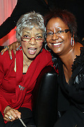 16 October 2010-New York, NY-  l to r: Ruby Dee and Harriet Cole at The Black Girls Rock! Shot Caller's Reception Presented by Beverly Bond and BET held at Fred's at Barneys New York on October 15, 2010 in New York City. ..BLACK GIRLS ROCK! Inc. is 501(c)3 non-profit youth empowerment and mentoring organization established to promote the arts for young women of color, as well as to encourage dialogue and analysis of the ways women of color are portrayed in the media. Photo Credit:.Terrence Jennings..