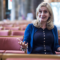 Cressida Cowell photographed in Edinburgh<br /> 13th July 2014 <br /> <br /> Photograph by Chris Scott/Writer Pictures WORLD RIGHTS