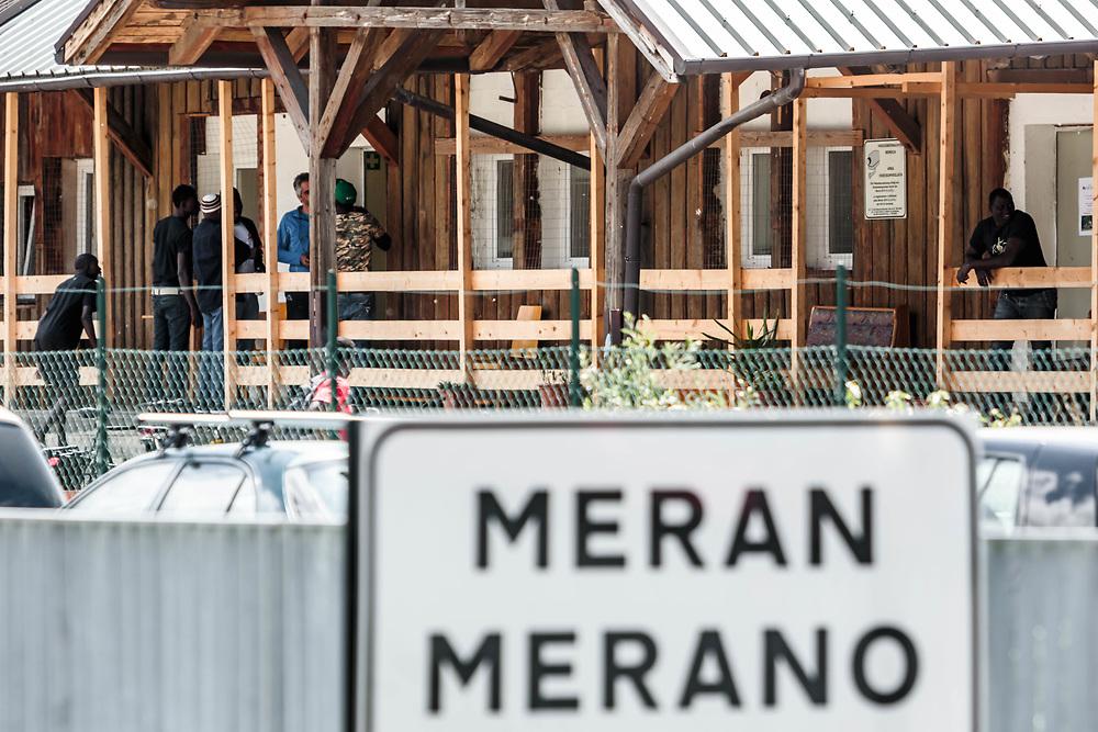 05 MAY 2016 - Merano (BZ) - Immigrati ospiti di un centro di accoglienza.