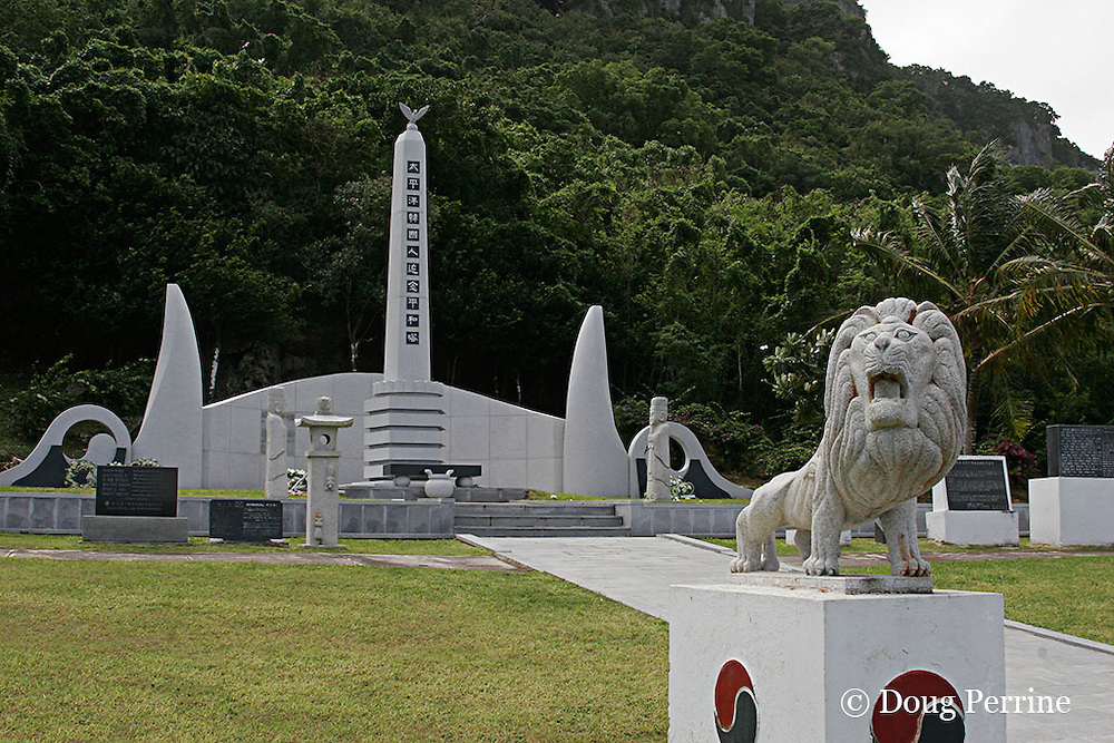 memorial to Korean dead during World War II, Saipan, Commonwealth of Northern Mariana Islands, Micronesia ( Western Pacific Ocean )