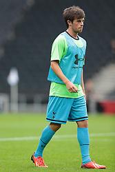 Tottenham's Kenneth McEvoy .Photo mandatory by-line: Nigel Pitts-Drake/JMP  - Tel: Mobile:07966 386802 31/07/2013 - MK Dons v  Tottenham XI  - SPORT - FOOTBALL - pre-season - Milton Keynes - Stadium MK