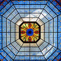 Indiana State Capitol Rotunda Dome in Indianapolis, Indiana<br />