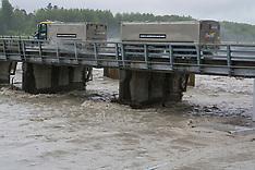 Christchurch-Waimakariri River runs high after torrential rain