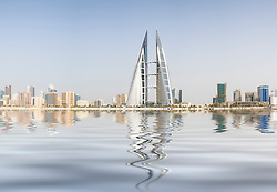 World Trade Center and skyine of Manama in Bahrain