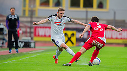 25.05.2016, Franz Fekete Stadion, Kapfenberg, AUT, 2. FBL, KSV 1919 vs SV Austria Salzburg, 36. Runde, im Bild Sebastian Zirnitzer (SV Austria Salzburg), Manfred Gollner (KSV 1919) // during the Austrian Erste Liga Match, 36th Round, between KSV 1919 and SV Austria Salzburg at the Franz Fekete Stadium, Kapfenberg, Austria on 2016/05/25, EXPA Pictures © 2016, PhotoCredit: EXPA/ Dominik Angerer