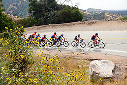 Olga Zabelinskaya (RUS), Trixi Worrack (GER) and Lizzie Deignan (GBR) lead up the climb at Amgen Tour of California Women's Race empowered with SRAM 2019 - Stage 2, a 74 km road race from Ontario to Mount Baldy, United States on May 17, 2019. Photo by Sean Robinson/velofocus.com