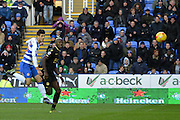 Reading's Lucas Piazon scores during the Sky Bet Championship match between Reading and Bolton Wanderers at the Madejski Stadium, Reading, England on 21 November 2015. Photo by Mark Davies.
