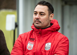 13.01.2020, Waldstadion, Pasching, AUT, 1. FBL, Trainingsauftakt, LASK, im Bild Dustin Heun (LASK Co-Trainer, Videoanalyst) // during a Trainingssession of Austrian tipico Bundesliga Club LASK at the Waldstadion in Pasching, Austria on 2020/01/13. EXPA Pictures © 2020, PhotoCredit: EXPA/ Reinhard Eisenbauer